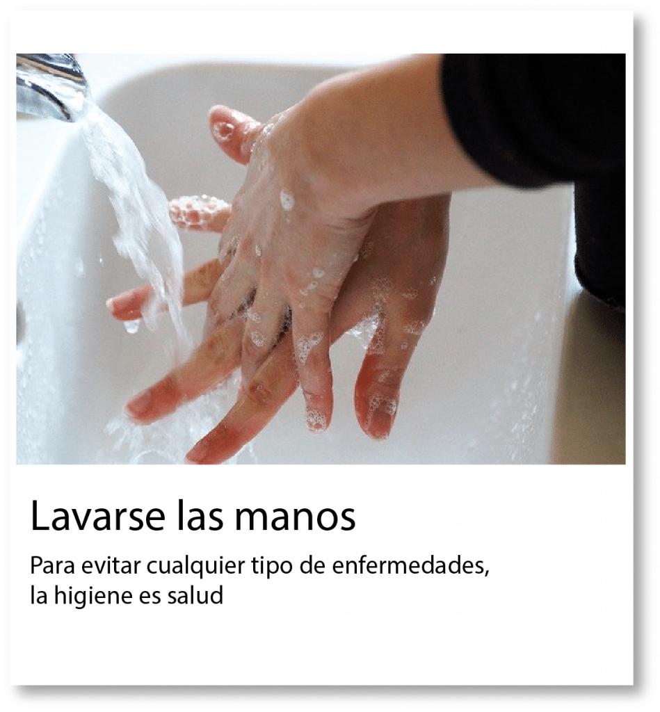 Lavarse las manos es muy importante para prevenir el contagio del COVID-19