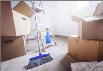 Cualquier mudanza require una buena limpieza