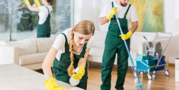 Servicios de limpieza a domicilio profesional