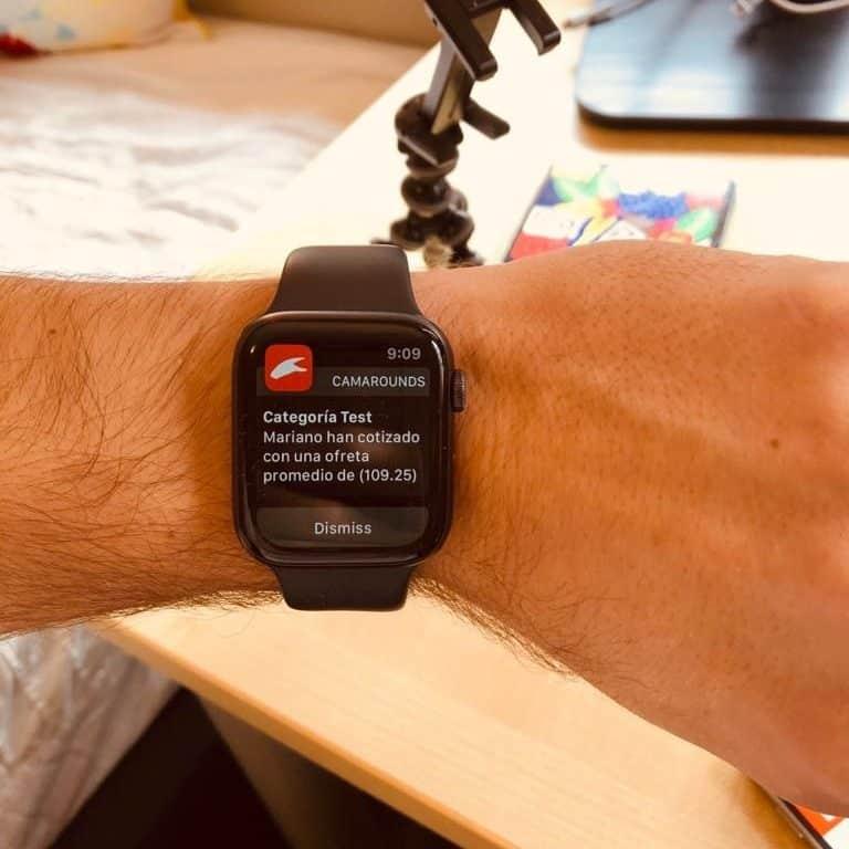 Lanzamiento App Camarounds en Apple Watch