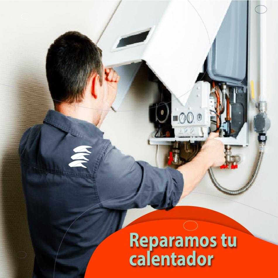 Reparación de calentador con Camarounds