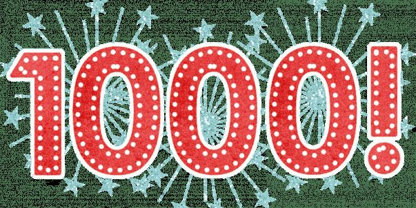 Camarounds número 1.000 conseguido