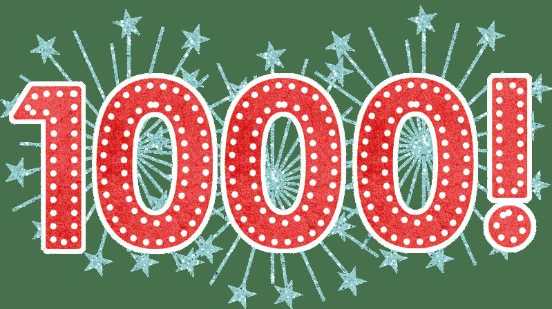 Hito conseguido: ¡Camaround número 1.000!