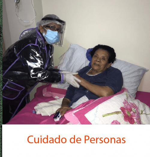 Servicio de cuidado de personas adultas
