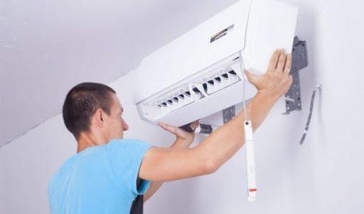 Instalación de equipo de aire acondicionado
