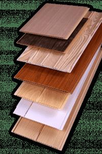 Tipos de cielo raso de PVC