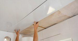 Cielo raso de PVC - Instalación