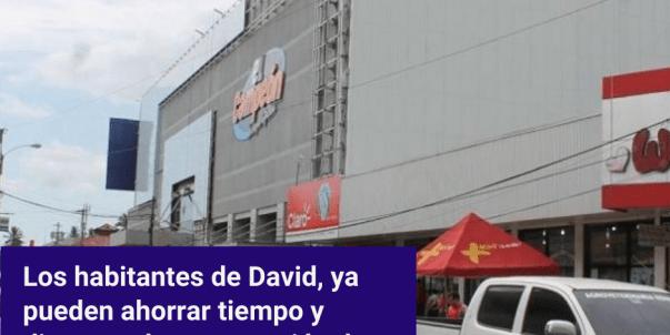 Los habitantes de David ya pueden ahorrar tiempo y dinero