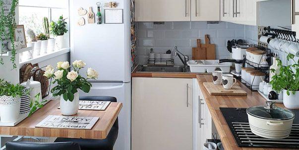 Remodelación de Cocina pequeña en madera