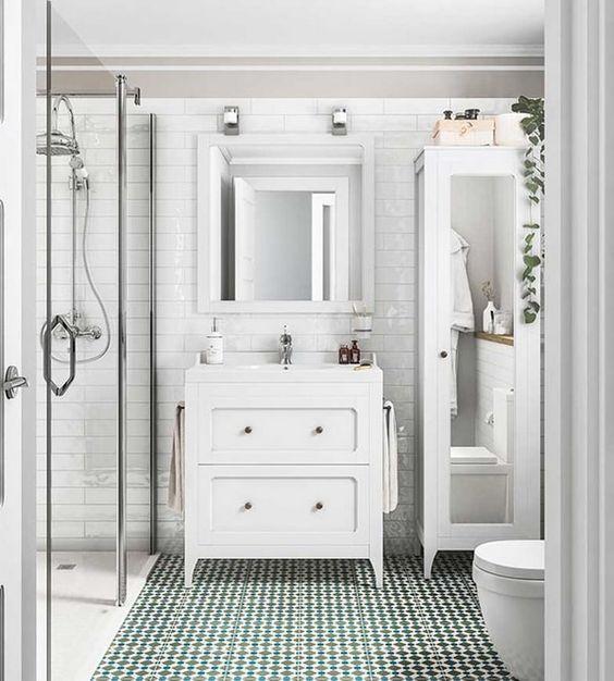 Suelos de baño con vinilo. Una forma low cost de remodelar tu baño
