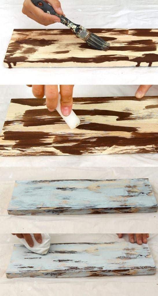 Pintado y lijado de mueble