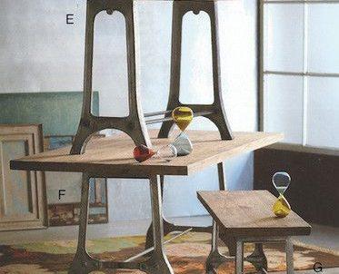 Restauración de mesas para comedor