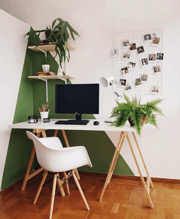 Utiliza tu color favorito para decorar