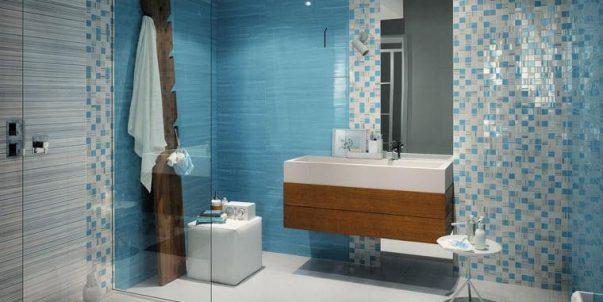 Revestimientos de mosaico gresite para baños