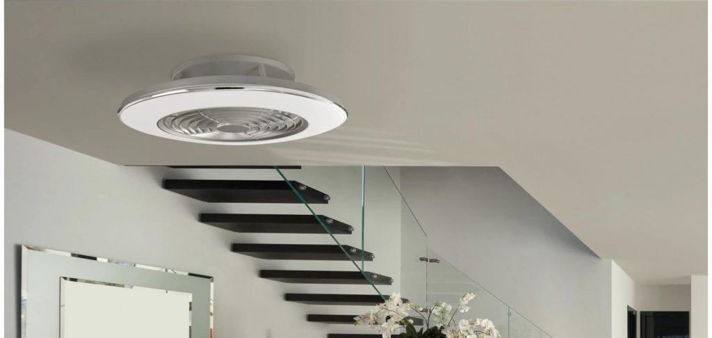 Elegir un abanico de techo de plafón es una idea muy estética para tu hogar, negocio u oficina