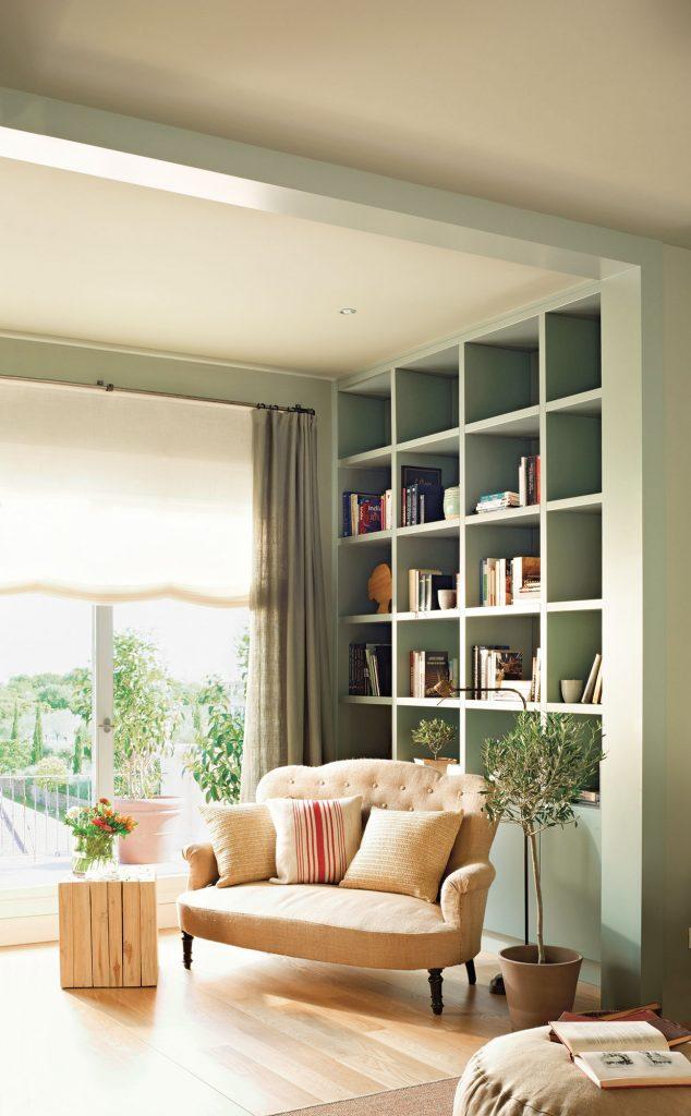 Pintura de paredes y muebles del mismo color