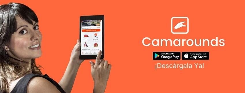 Descarga la App de Camarounds en la App Store y Play Store