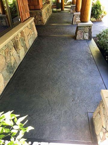 Elegir un piso de concreto pulido para el exterior es siempre una buena opción