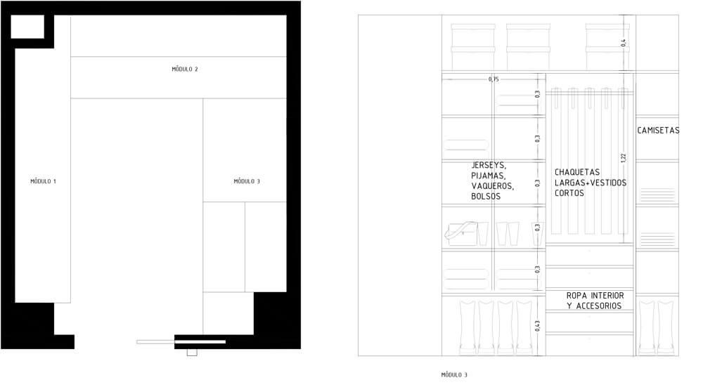 Diseñar un closet paso a paso